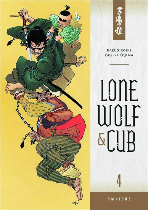 Lone Wolf & Cub Omnibus TPB Vol 04 -- DEC130144
