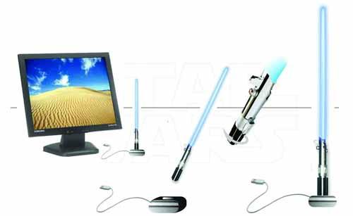 Star Wars Lightsaber USB Glow Lamp -- APR121840