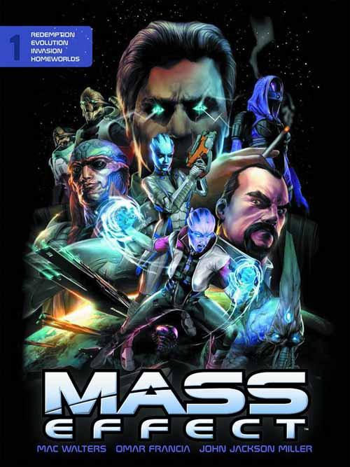 Mass Effect Library Edition HC Vol 01 -- DEC130165