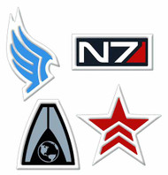Mass Effect Renegade Embroidered Patch -- DEC130170