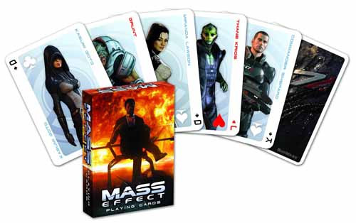 Mass Effect Playing Cards -- DEC130175