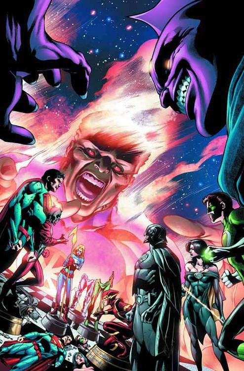 Justice League Of America #12 (evil) -- Batman Superman -- DEC130205