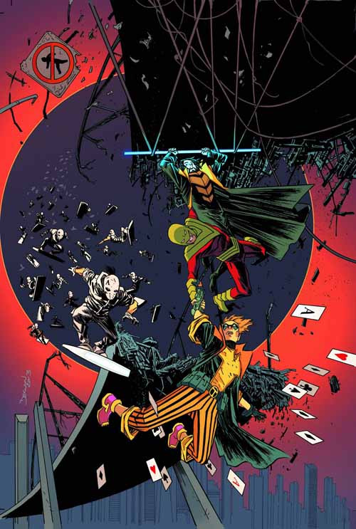 Forever Evil Rogues Rebellion #5 (of 6) -- DEC130212