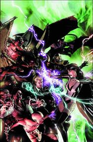 Justice League Dark #28 (evil) -- Batman Superman -- DEC130217