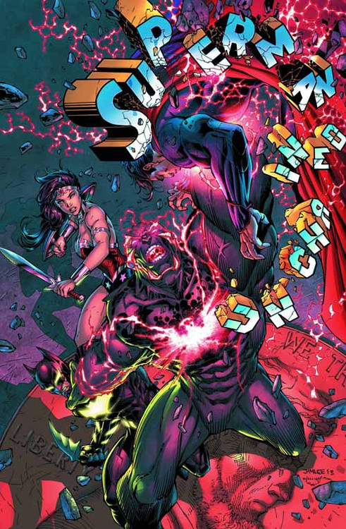 Superman Unchained #7 Combo Pack -- Dark Knight -- DEC130242