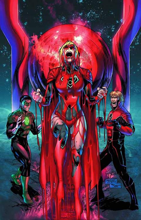 Green Lantern Red Lanterns #28 Combo Pack -- DEC130273