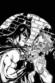Batman Black & White #6 (of 6) -- Dark Knight -- DEC130288