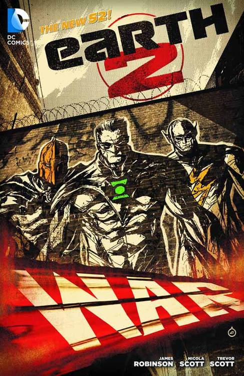 Earth 2 HC Vol 03 War (n52) -- Dark Knight -- DEC130299