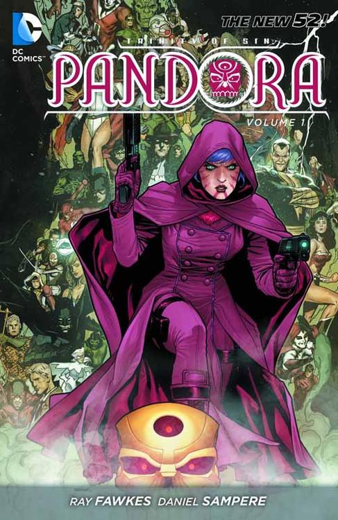 Trinity Of Sin Pandora TPB Vol 01 The Curse (n52) -- DEC130305