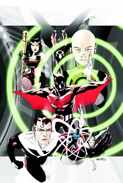 Justice League Beyond Konstriction TPB -- Dark Knight -- DEC130354