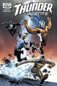 Thunder Agents #6 Subscription Variant -- DEC130418