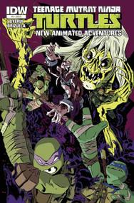 Teenage Mutant Ninja Turtles New Animated Adventures #8 -- DEC130422