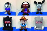 Walking Dead Plush 12-Piece Assorted -- AUG121845