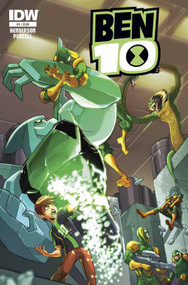 Ben 10 #4 Subscription Variant -- DEC130452