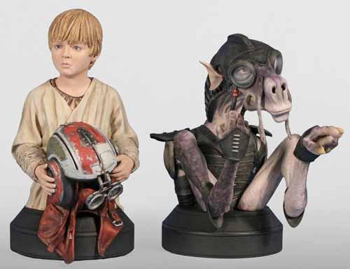 Star Wars Sebulba & Anakin Mini-Bust 2-Pack -- AUG121875