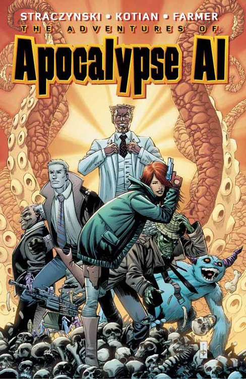 Apocalypse Al #1 (of 4) Cover B Sook (Mature Readers) -- DEC130490