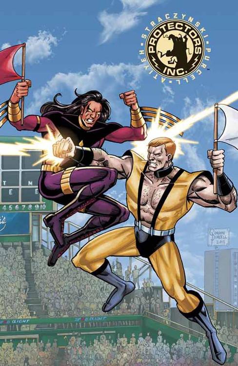 Protectors Inc #4 Cover B Cafaro & Atiyeh (Mature Readers) -- DEC130588