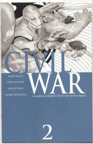 Civil War 2 McNiven Sketch Variant -- 3rd printing -- Millar McNiven -- COMIC00000001-003
