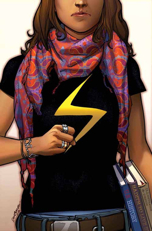Ms Marvel #1 -- DEC130623
