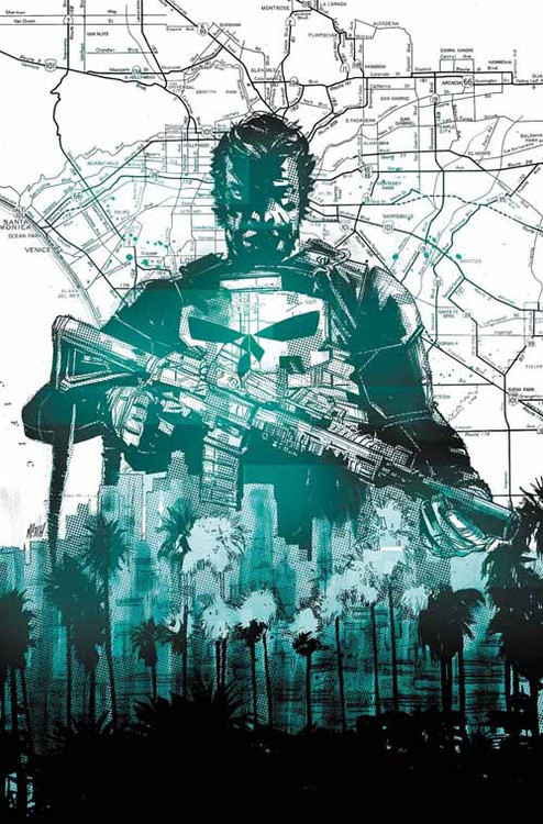 Punisher #1 Blank Variant -- DEC130631