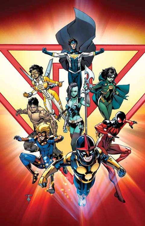 New Warriors #1 -- DEC130655