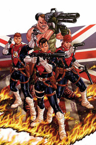 Revolutionary War Supersoldiers #1 -- DEC130717