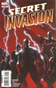 Secret Invasion 1, 2, 3, 4, 5, 6, 7, 8 Full Set Lot Bendis Yu -- COMIC00000009