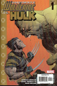 Ultimate Wolverine vs Hulk 1, 2 -- 1st pr -- Set Lot Lindelof Yu -- COMIC00000012