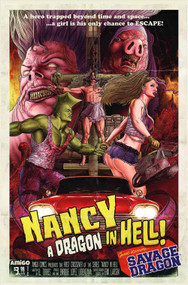 Nancy Dragon In Hell One Shot -- DEC130818
