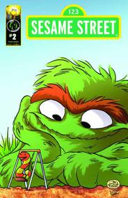 Sesame Street #2 Friendship Cover C Oscar The Grouch -- DEC130843