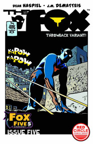 Fox #5 Toth Throwback Variant Cover -- DEC130853