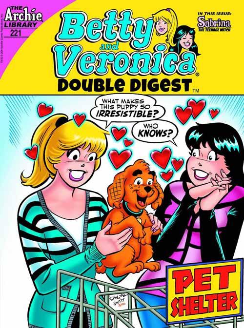 Betty & Veronica Double Digest #221 -- DEC130862