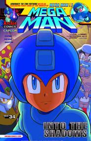Mega Man #34 Regular Cover -- DEC130864