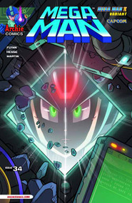 Mega Man #34 Mega Man X Variant Cover -- DEC130865