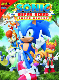 Sonic Super Sized Super Digest #6 -- DEC130867