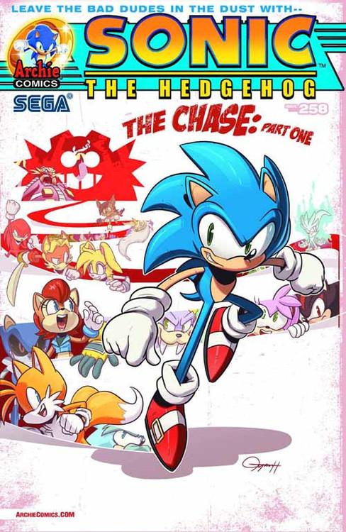 Sonic The Hedgehog #258 Regular Cover -- DEC130868