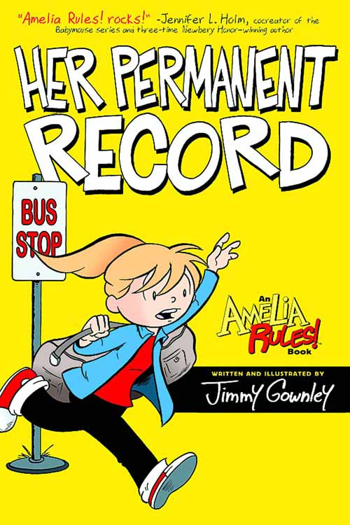Amelia Rules S&s Edition TPB Vol 08 Her Permanent Record -- DEC130883