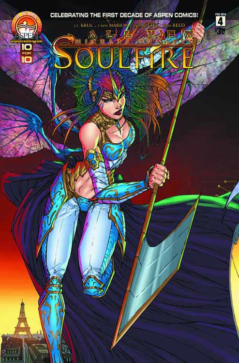 All New Soulfire #4 Direct Market Cover A -- DEC130884