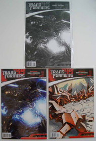 Transformers Prime Directive Movie Prequel 1, 2, 1 B&W Variant -- COMIC00000023