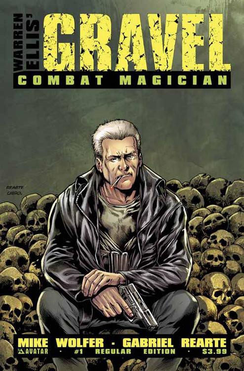 Gravel Combat Magician #1 (Mature Readers) -- DEC130909