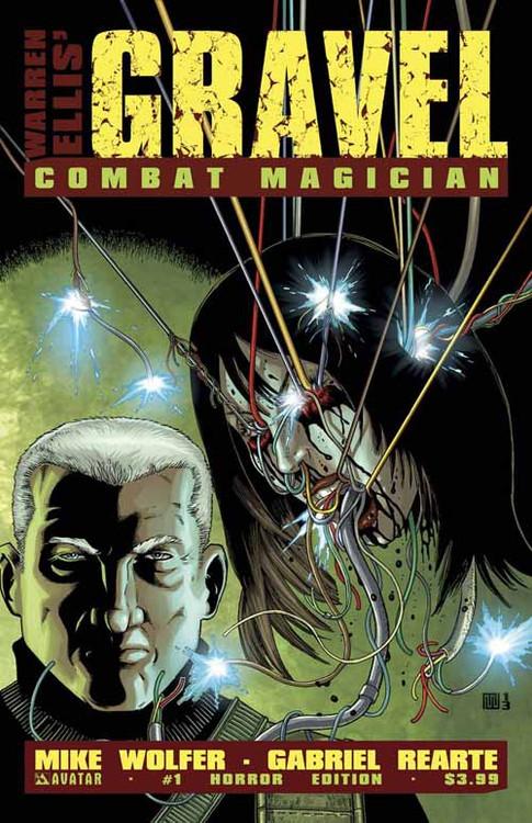 Gravel Combat Magician #1 Horror Cover (Mature Readers) -- DEC130911