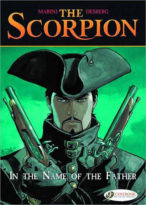 Scorpion Graphic Novel 05 Treasure Of Templars (Mature) -- DEC131025