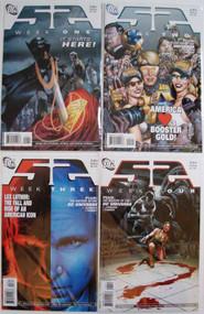 52 Week 1, 2, 3, 4 Batman Superman Wonder Woman Johns Morrison Waid -- COMIC00000028-001