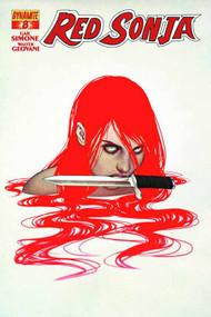 Red Sonja #8 Frison Cover -- DEC131047