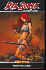 Red Sonja HC Vol 04 Animals & More -- DEC131059