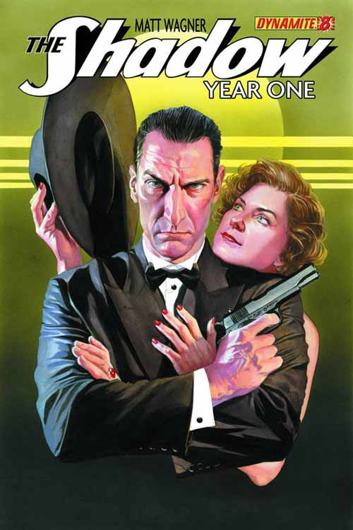 Shadow Year One #8 (of 10) Cover B Ross -- DEC131069