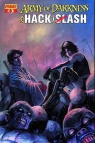 Army Of Darkness Vs Hack Slash #6 (of 6) Caselli Cover -- DEC131098
