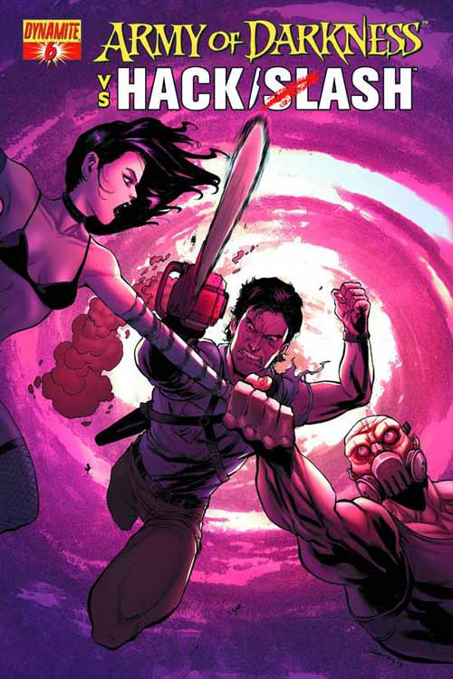 Army Of Darkness Vs Hack Slash #6 (of 6) Seeley Cover -- DEC131099