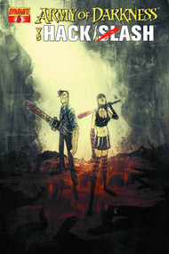Army Of Darkness Vs Hack Slash #6 (of 6) Templesmith Cover -- DEC131100