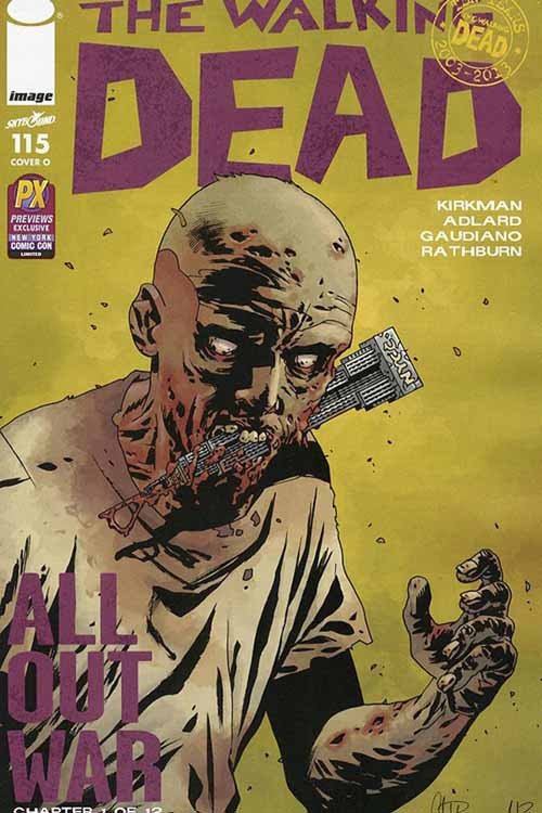 Dynamic Forces Walking Dead #115 NYCC Variant CGC Graded -- DEC131144